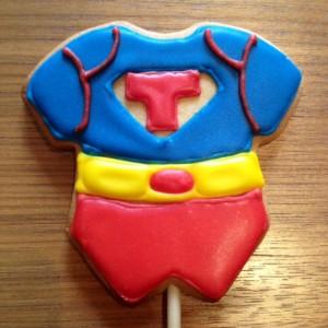 Galletas de superhéroe
